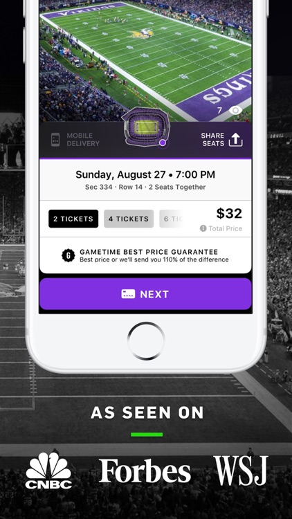 Gametime · Last Minute Tickets screenshot-0