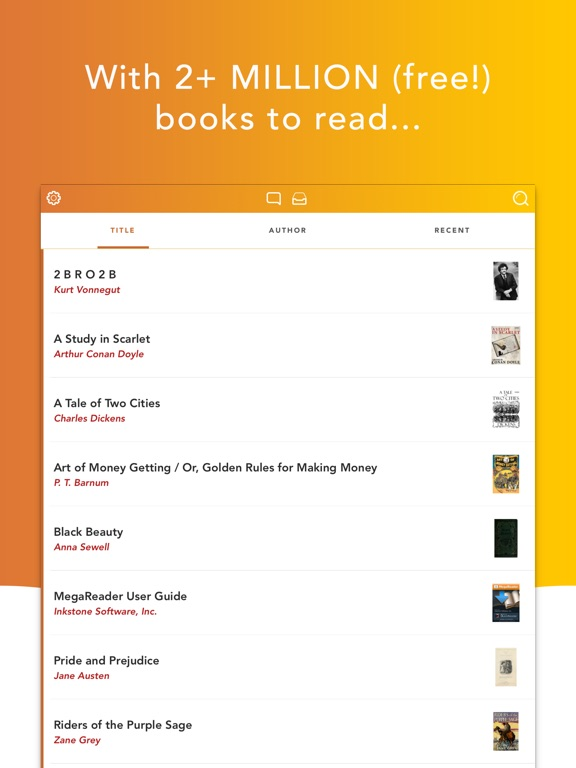 MegaReader Screenshots