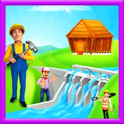 Village Farm Dam Repair: Construction Game