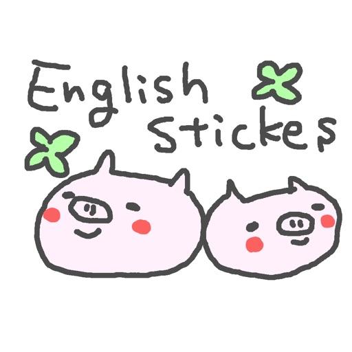 English Cute Pig