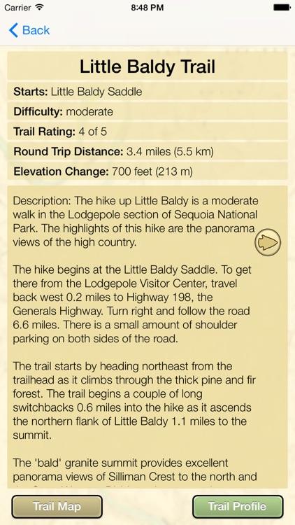 Hiking Sequoia/King Canyon screenshot-4