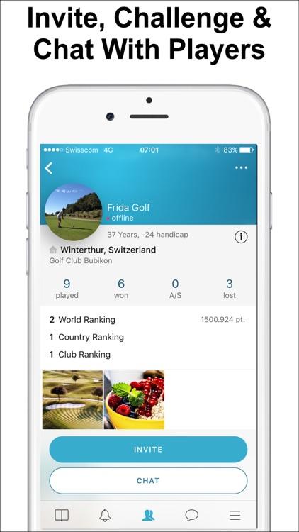 The Match Player Golf App
