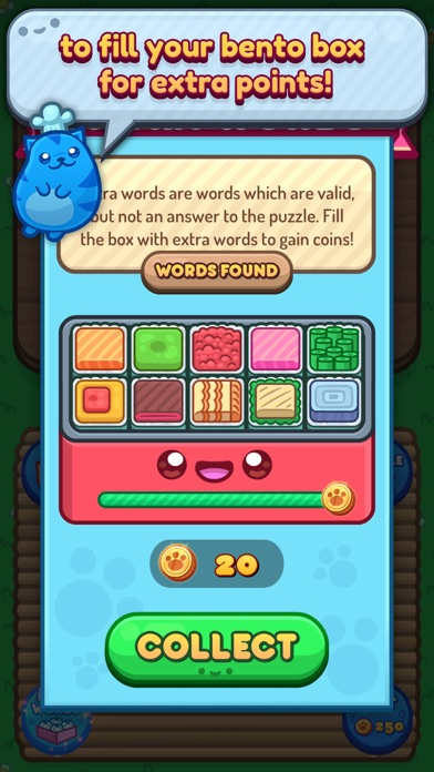 Sushi Cat Words screenshot 5