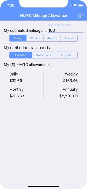 hmrc mileage calculator on the app store