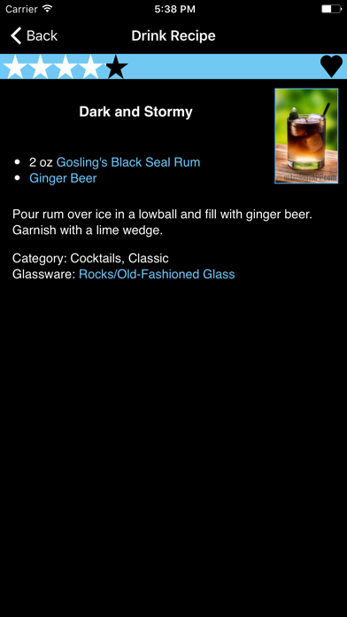 Mixologist™ Drink & Cocktail Recipes ScreenShot2