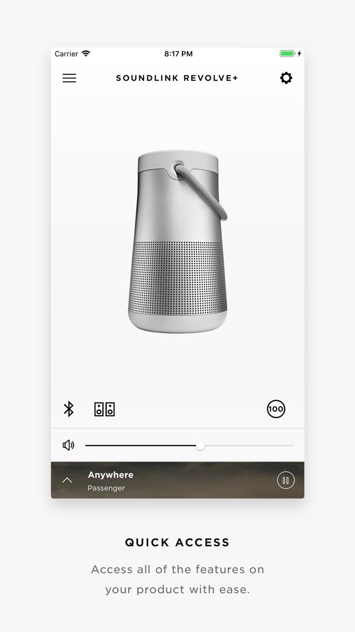 Bose Connect Screenshot