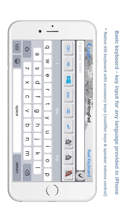 iWritingPad Keyboard Mouse screenshot-3