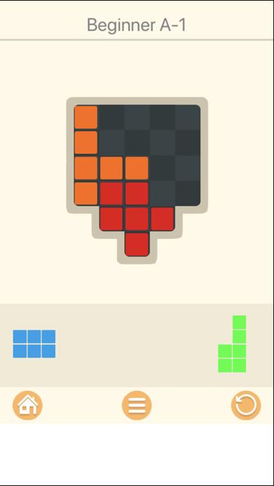 Carck Puzzle Brain Block Woody screenshot three