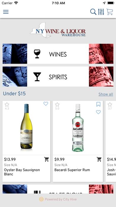 NY Wine and Liquor Warehouse screenshot two