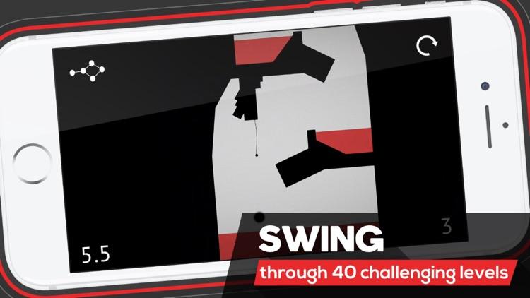 Floof: Rope Swing Hero screenshot-0