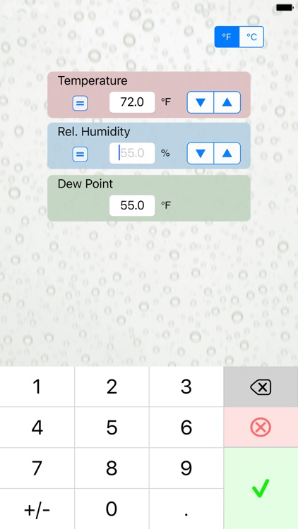 Dew Point Calc