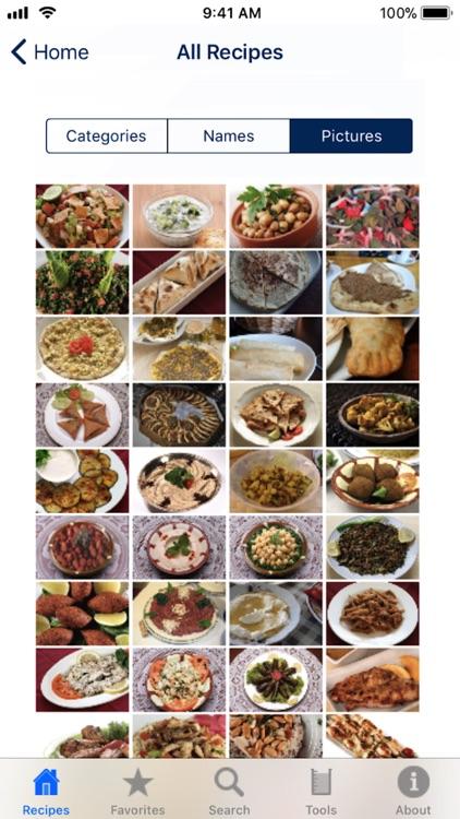 100 Lebanese Recipes screenshot-3