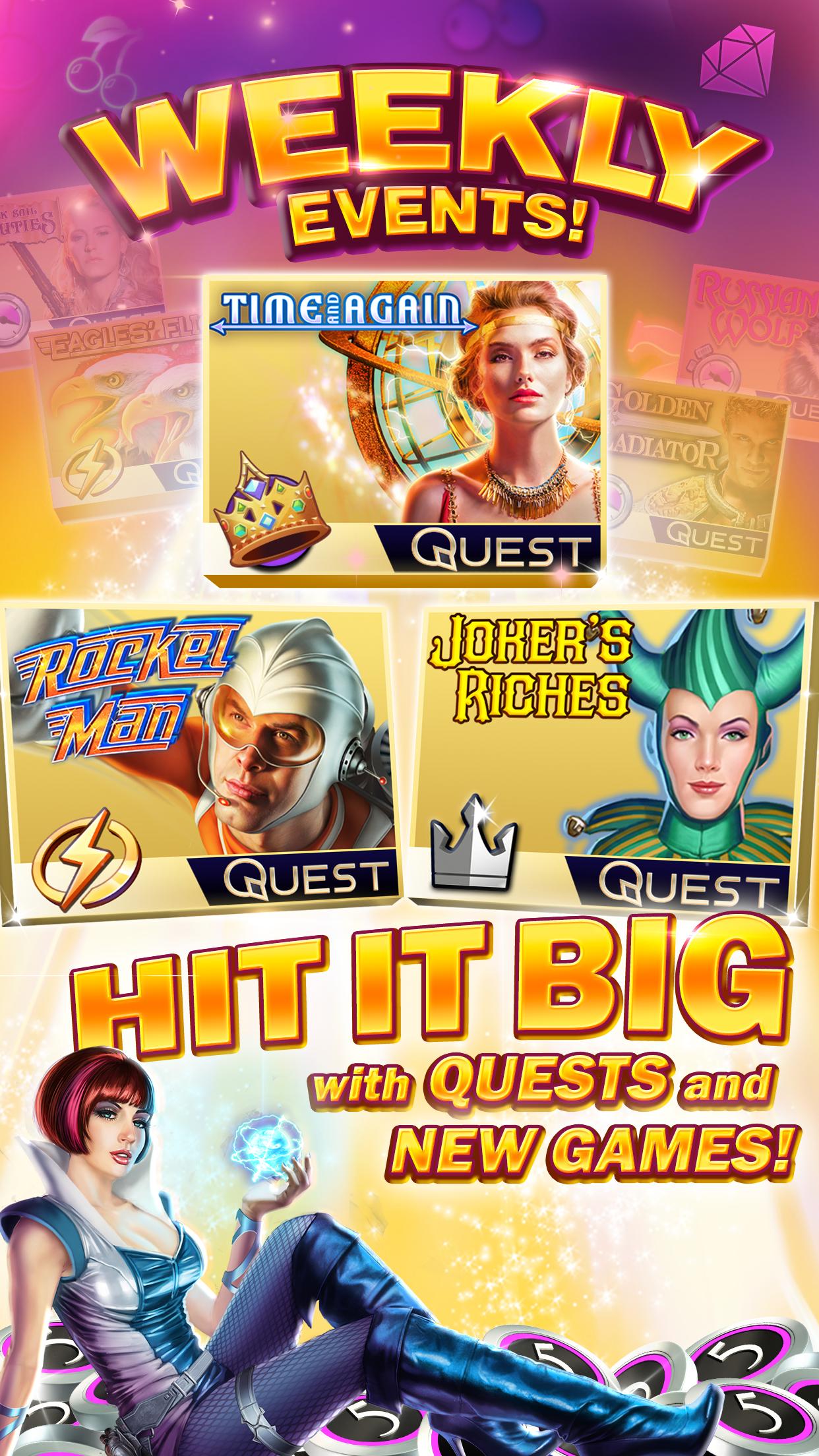 High 5 Casino: Hot Vegas Slots Screenshot