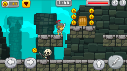 The Sword and the Gold - Escap screenshot one