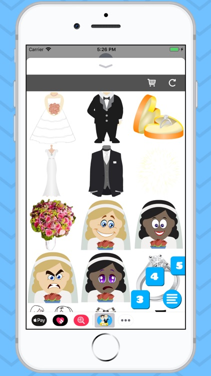 Wedding Emoji Stickers! screenshot-3