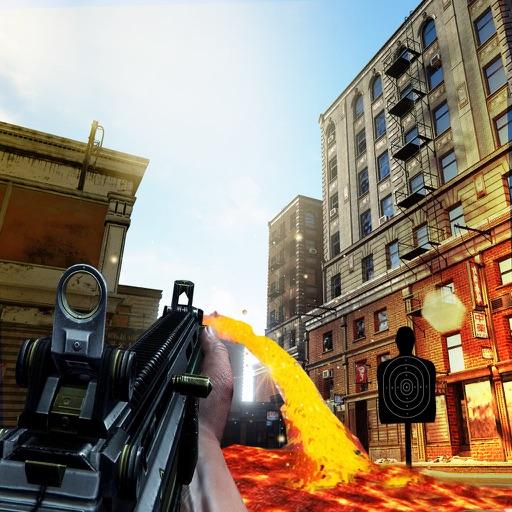 Lava Gun Weapon 3D