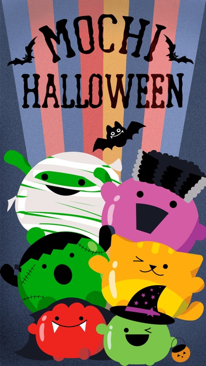 Mochi Halloween Stickers screenshot-0