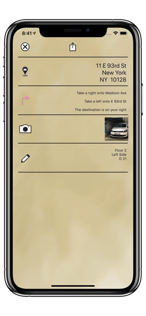 Find where you parked on your iPhone