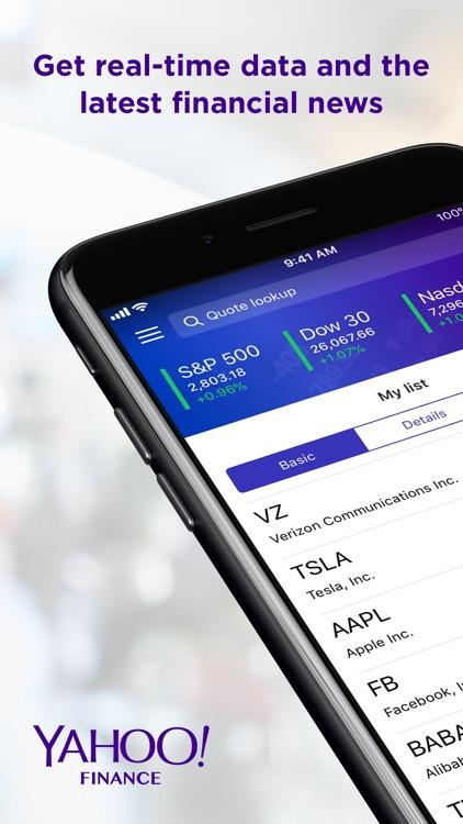 Yahoo Finance screenshot-0