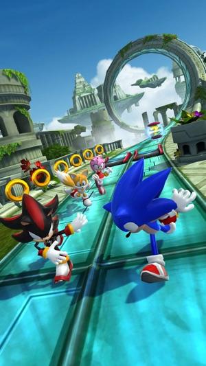 Sonic Forces: Speed Battle Screenshot