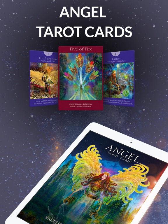 Angel Tarot Cards screenshot 6