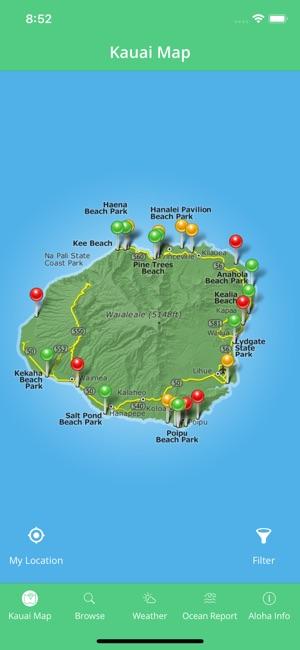 Kauai Beach Guide on the App Store on oahu street map, kauai travel, island of kauai beaches map, honolulu sightseeing map, kauai things to do, kauai points of interest on hawaii island, lihue street map, kauai sights to see, phoenix points of interest map, kauai tourism, paris points of interest map, kauai sites to see,