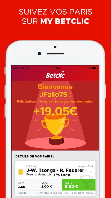 Betclic Paris Sportifs screenshot-4