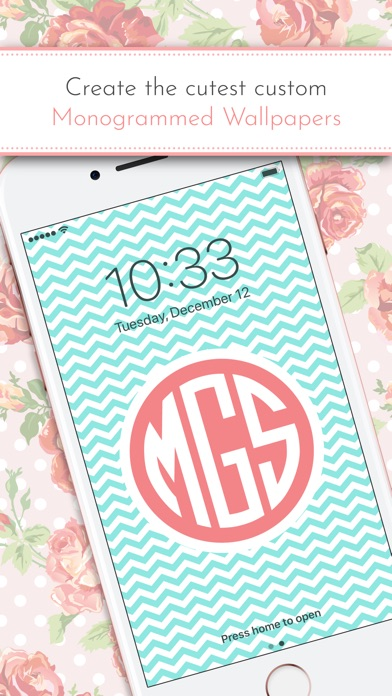 Monogram It! is an easy, fun way to make custom monogrammed wallpapers for your iPhone or iPad. You'll love designing your personal wallpaper using our ...