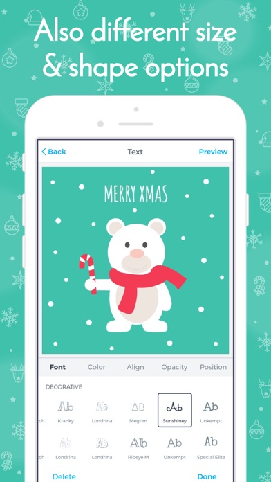 Labelr - Christmas Labels screenshot four