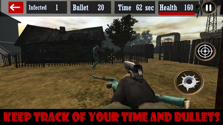 Zombie Shooting: 3D Simulation screenshot-3