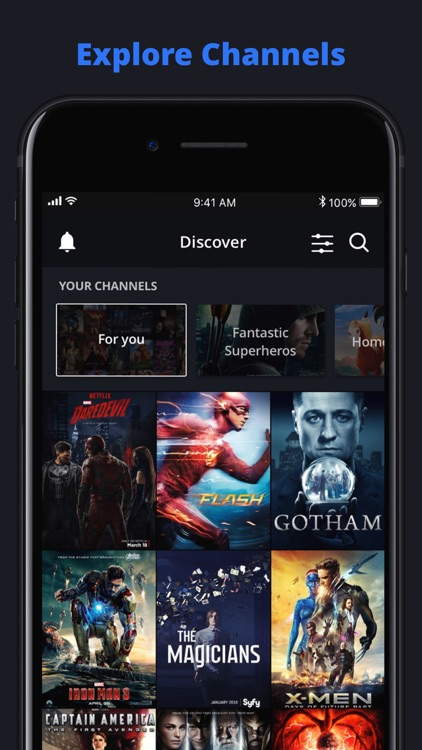 Channelist: TV and Movie Guide