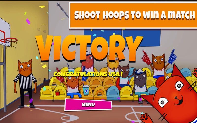 Cat's Cup — Basketball Arcade для ПК 1