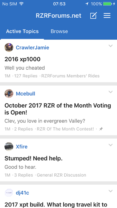 RZRForums.net screenshot one
