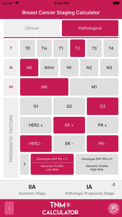 TNM8 Breast Cancer Calculatorのおすすめ画像5