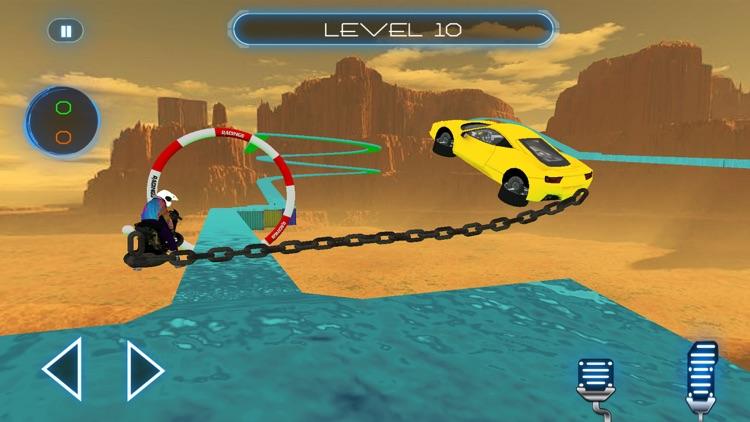 Chained Cars & Bike Surfers screenshot-4