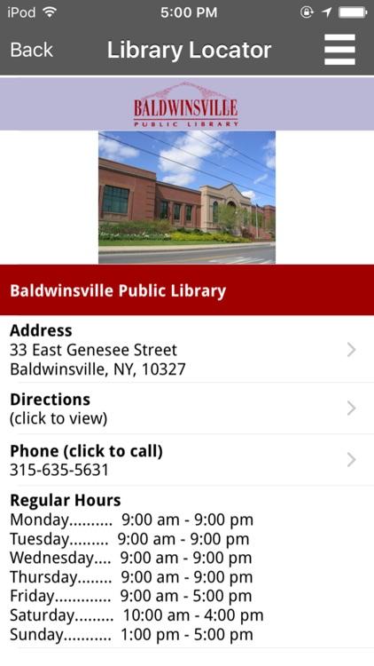 Baldwinsville Public Library screenshot-4