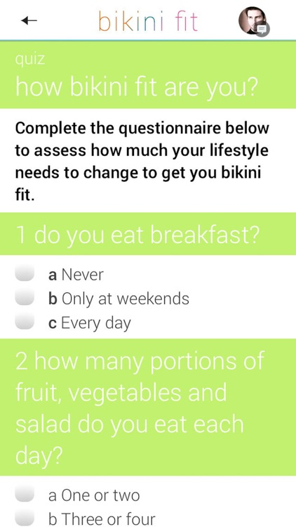 Bikini Fit: a 4 week plan for beach body fitness screenshot-4