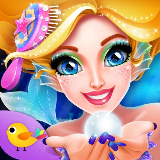 Princess Mermaid - Girls Makeup and Dressup Games iOS App