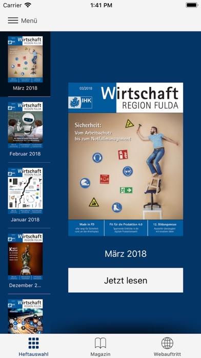 IHK-Magazin FuldaScreenshot von 1
