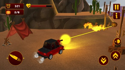 Scary Halloween Shooting Car screenshot 2