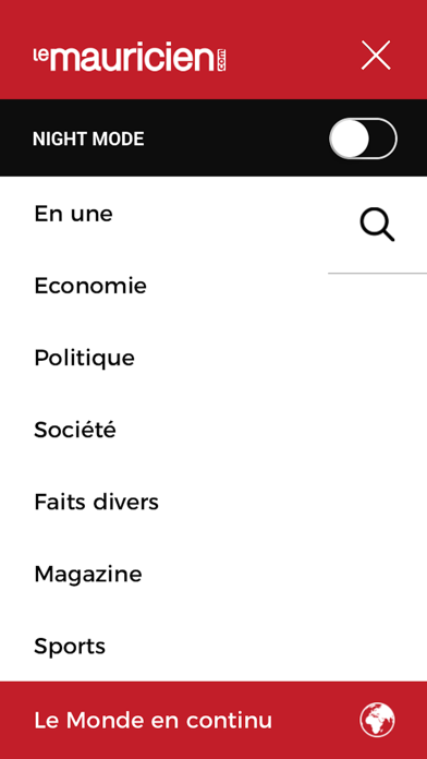 Le Mauricien screenshot three