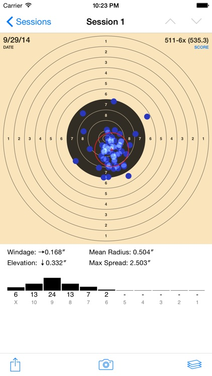 TargetScan - Pistol & Rifle screenshot-0