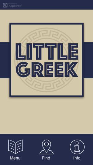 Little Greek Birstall On The App Store