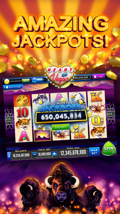 Heart of Vegas – Slots Casino iPhone