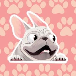 DogFaceMoji - MuttMad Dog Face Decals