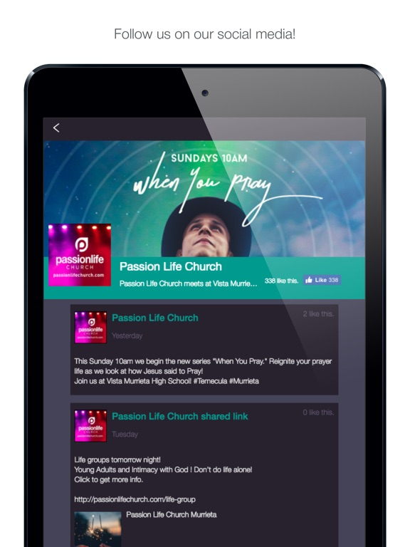 Image of Passion Life Church -Murrieta for iPad