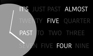 Written Clock