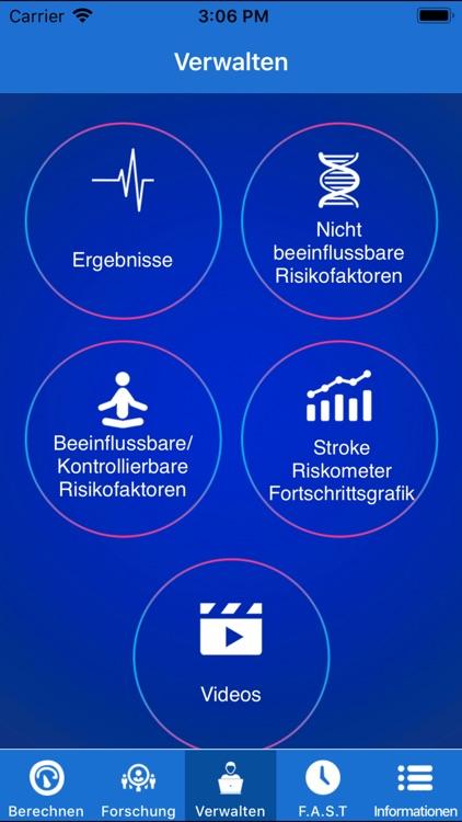 Stroke Riskometer German Lite