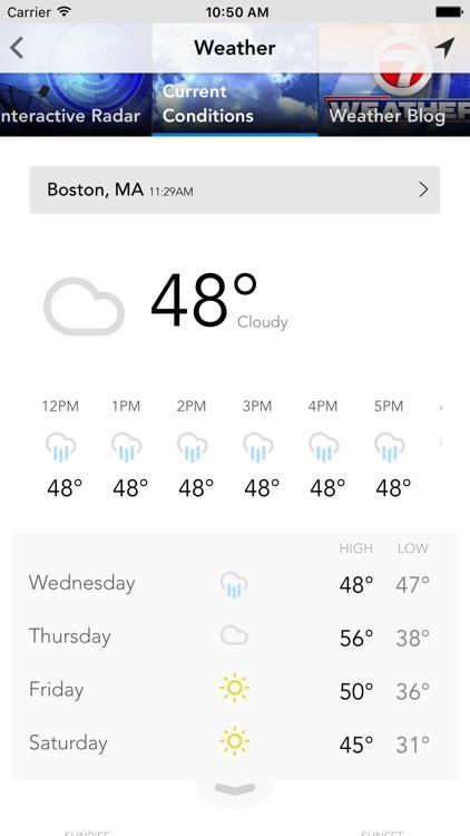 7 News HD - Boston News Source screenshot-3