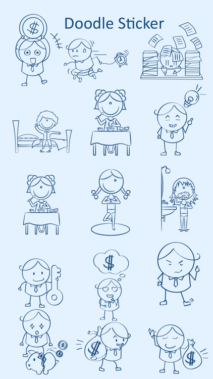 Doodle Stickers Pack